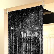 Room Divider Beads Curtain - beaded curtains bamboo crystal and metal ebay