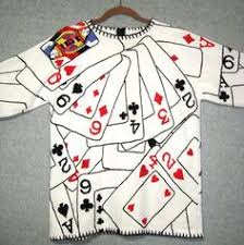 ace of spades card sweater etsy
