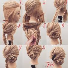tutorial sirkam rambut panjang 15 cara mengikat rambut panjang mudah dan simple step tutorial gambar
