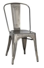 Metal Dining Chairs Magnussen Home Stovall Vintage Metal Dining Chair Ahfa Dining