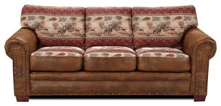 American Furniture Sofas Lovely Rustic Sofa With American Furniture Classics Deer Valley