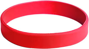red silicone bracelet images Silicone wristbands medtech wristbands canada png