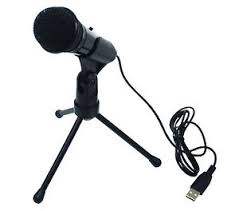 skype de bureau desktop studio speech recording microphone usb laptop