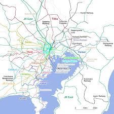Kanto Map Tokyo Highway Map Map Of Tokyo Highway Kantō Japan