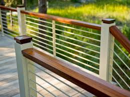 Railings And Banisters Deck Railing Design Ideas Diy