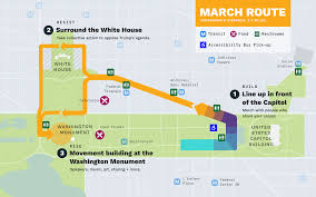 Washington Metro Map by Peoples Climate Movement 2017 U2013 Logistics