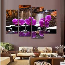 Wall Paintings For Living Room Online Get Cheap Painting Purple Walls Aliexpress Com Alibaba Group