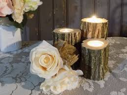rustic log candle holder rustic home decor gft woodcraft rustic log candle holder rustic home decor candle holders gft woodcraft