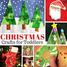 Easy Christmas Crafts For Toddlers To Make - simple christmas crafts for toddlers easy peasy and fun
