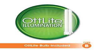 ottlite t81g5t shpr 18 watt wing shade floor lamp black youtube