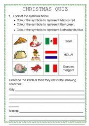english teaching worksheets christmas quiz