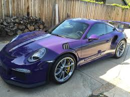 Porsche Gt3 Rs Msrp Loaded And Rare 2016 Ultra Violet Gt3rs Rennlist Porsche