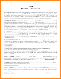 lease agreement samples free change of address form 1 week