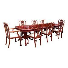 vintage u0026 used chippendale dining tables chairish
