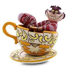 jim shore figurine cheshire cat in tea cup
