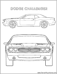 challenger coloring page