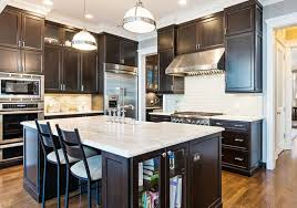 black walnut wood kitchen cabinets 50 high end wood kitchens photos designing idea