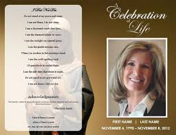 make your own funeral program 22 funeral program templates free word pdf psd documents