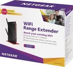 netgear ac1200 dual band wireless ac range extender with 5 port