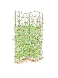 three panel trellis gardener u0027s supply