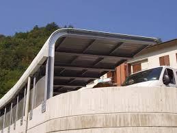 tettoie per auto tettoie in metallo resistenza ed affidabilit罌 o t
