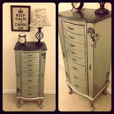 rustic jewelry armoire real wood jewelry armoire foter ideas of rustic jewelry armoire