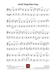 Catholic Thanksgiving Songs Let All Things Now Living Hymnary Org