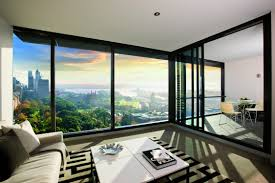 luxury apartments inside private luxury apartments complex in