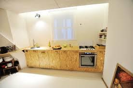 quelques réalisations une cuisine en osb des étagères ajustées