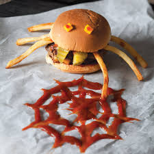spider sliders recipe scary and halloween foods