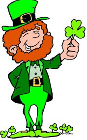 st patricks day heart with shamrock clipart cliparting com