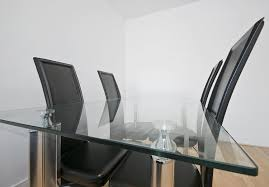 clear glass table top fab glass and mirror rectangle tempered clear glass table top w