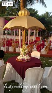 table decorations on rent lucky wedding rental
