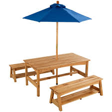 Ikea Childrens Picnic Table by Use Farm Table Like This With Umbrella Through It Drill Hole In