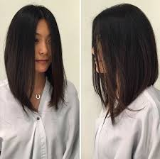 medium length swing hair cut best 25 long inverted bob ideas on pinterest short to long bob