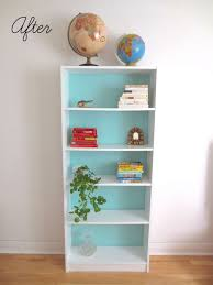 Billy Bookcase Diy Diy Painted Billy Bookcase