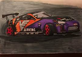 nissan 350z drawing images tagged with mikesschetches on instagram