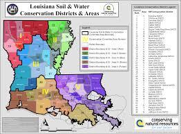 Map Of Louisiana Parishes by Louisiana District Directory Gulf Coast Swcd
