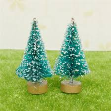 best selling miniature white snowy decorated tree