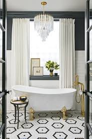 Gray And White Bathroom Ideas by Best 25 Glamorous Bathroom Ideas On Pinterest Elegant Home