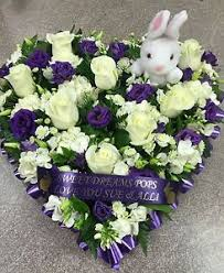 funeral flowers printed personalised ribbon 38mm x 1 metre memorial