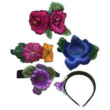 flower bands recycled huipil bands made in guatemala handmade fair