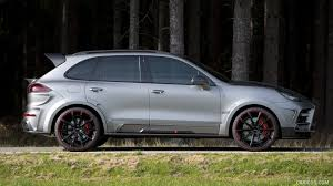 mansory porsche 2015 mansory porsche cayenne turbo side hd wallpaper 10