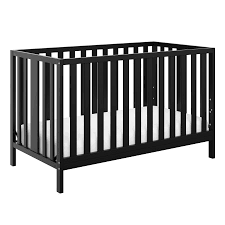 Black 4 In 1 Convertible Crib Storkcraft Pacific 4 In 1 Convertible Crib Black Walmart