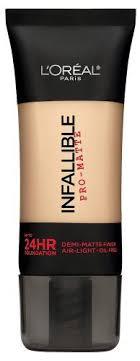 infallible pro matte 24hr foundation