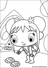 ni hao kai lan coloring pages coloring book coloring