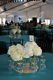 hydrangea wedding centerpieces white flowers white hydrangea turquoise wedding white
