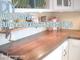 countertops butcher block countertops and backsplash album on