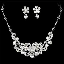 prom necklace beautiful bridal wedding prom jewelry set hs8 s