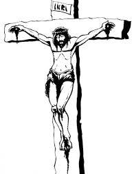 Jesus Cross Tattoos On - black and white jesus on the cross tattoos design tattooic